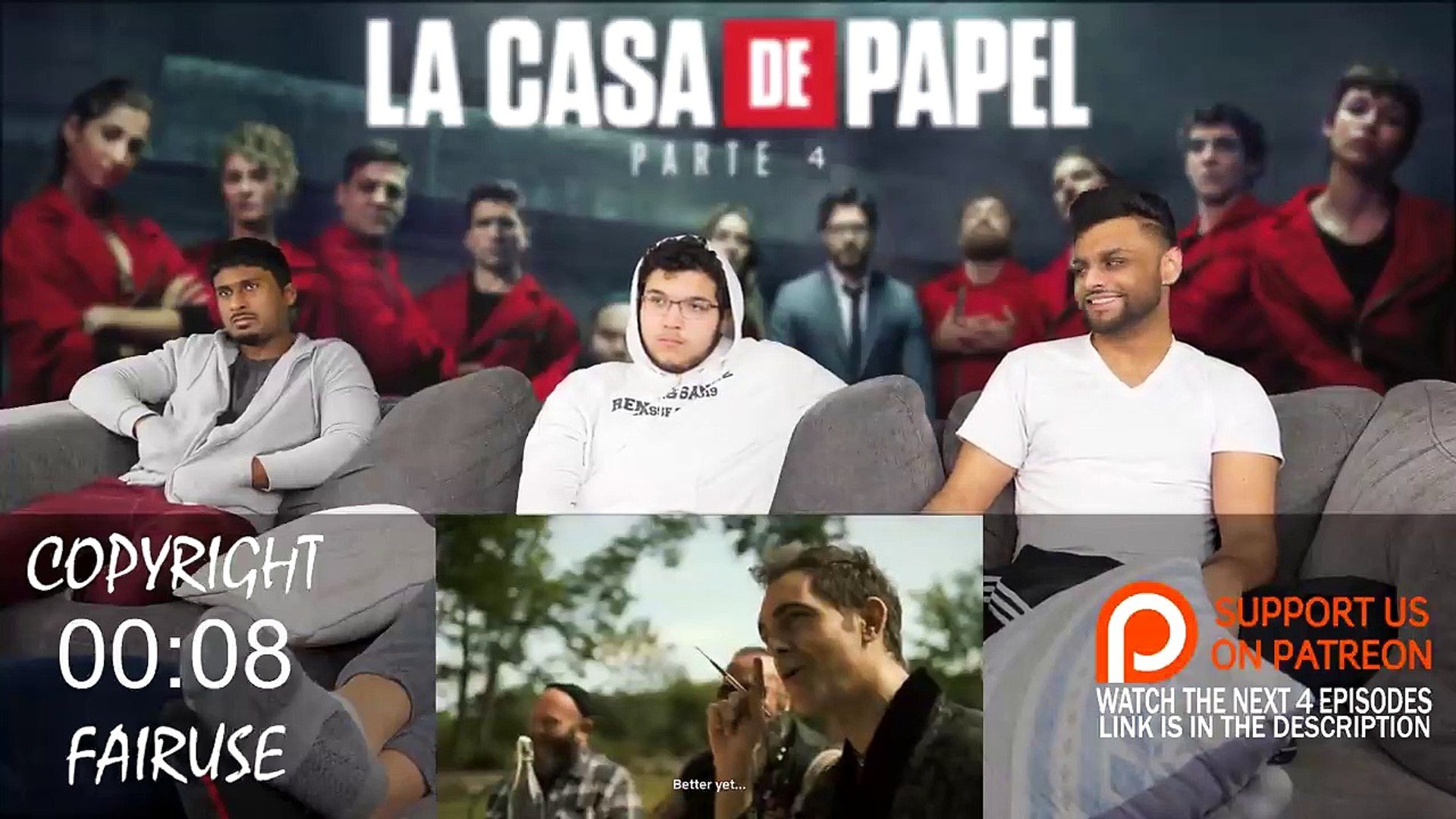 La Casa De Papel (Money Heist) - 4x5 -minutos antes- REACTION + REVIEW!