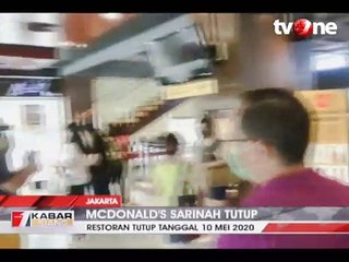 Momen-momen Terakhir McDonald's Sarinah Sebelum Tutup