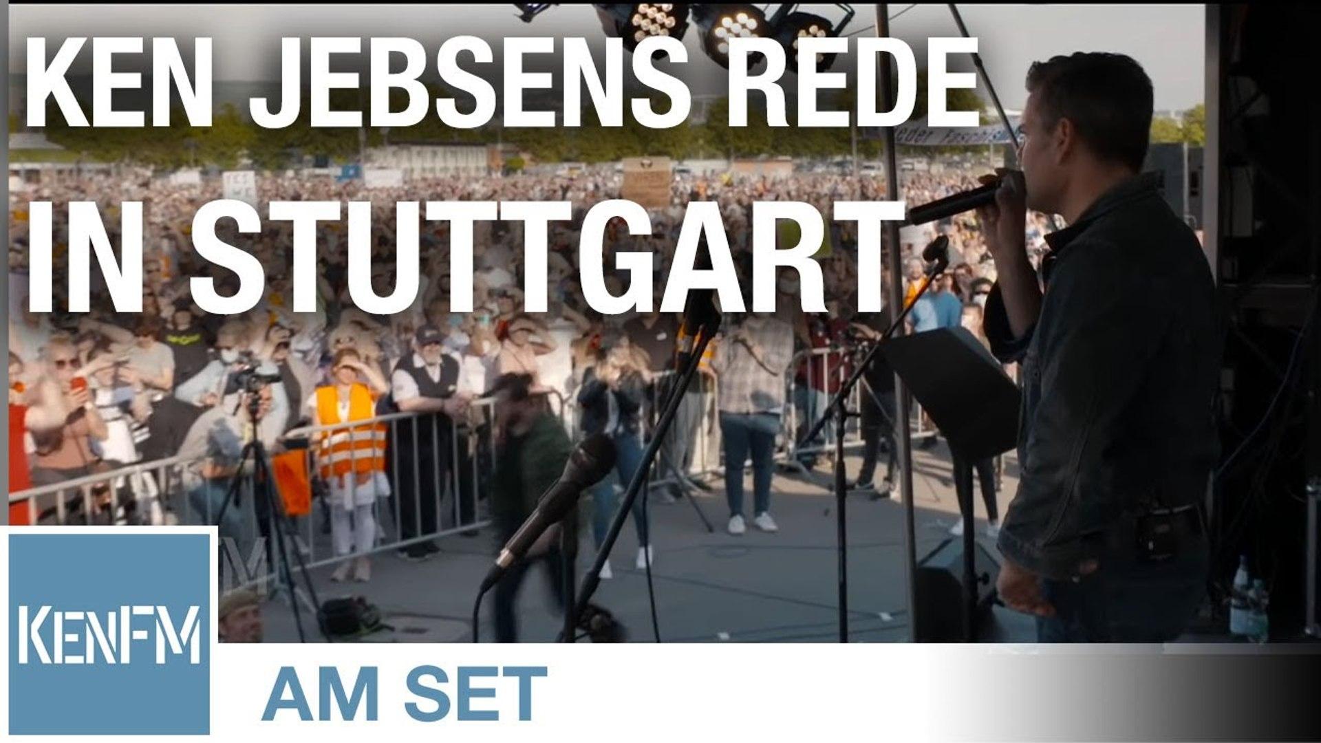 Ken Jebsens Rede anläßlich der Demonstration für Grundrechte auf den Cannstatter Wasen am 9. Mai 202