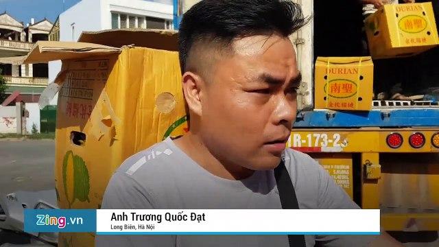 Thực hư việc giải cứu 17 tấn sầu riêng ở Hà Nội Ngày 25/5