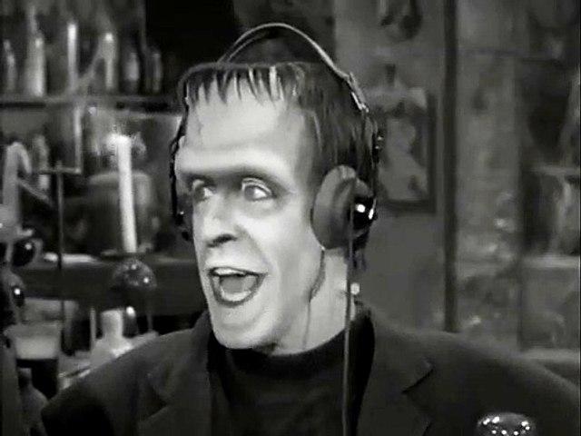 Herman Munster on Ham Radio