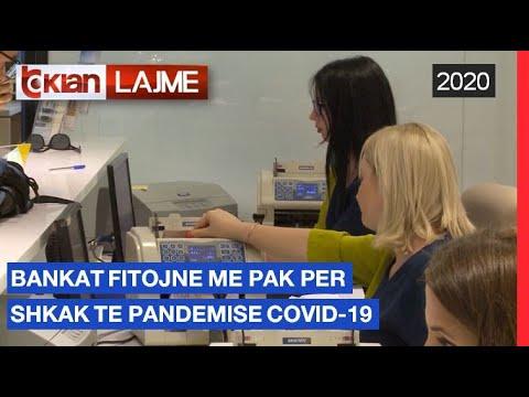 Bankat fitojne me pak per shkak te pandemise Covid-19 | Lajme – News
