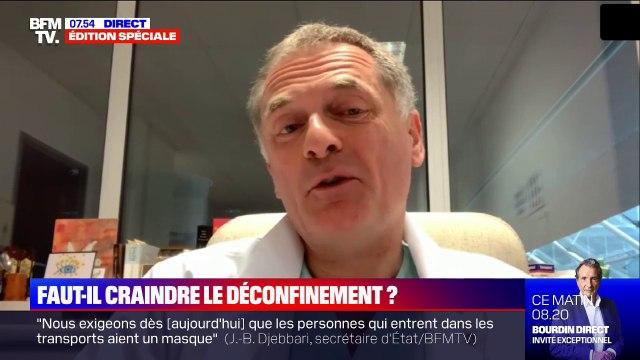 """Philippe Juvin (chef des urgences de l'hôpital Georges-Pompidou): """"L'épidémie peut repartir dans les cinq semaines qui viennent"""""""