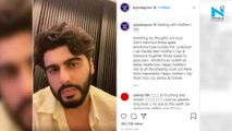Watch, emotional Arjun Kapoor misses late mom Mona Kapoor on Mother's Day