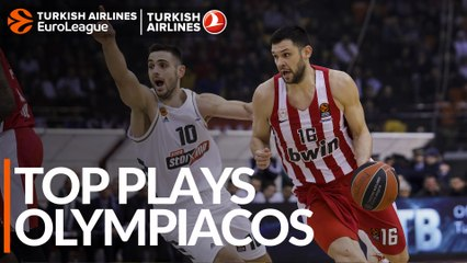 Top Plays: Olympiacos Piraeus