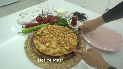 TAVADA KIRPIK BÖREK TARIFI / Sadece 2 yufka ile yapılan kolay börek/HATİCE MAZI ile Yemek tarifleri