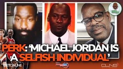 "Kendrick Perkins: Michael Jordan is One Selfish Individual"" - on ESPN Last Dance"