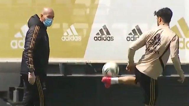 Le Real Madrid fait son grand retour à l'entraînement