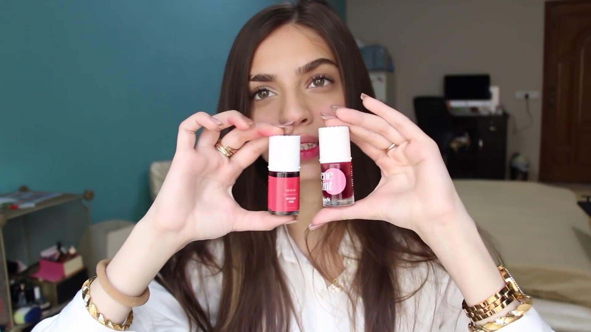 EASY AND QUICK 5 MINUTE MAKEUP CHALLENGE  Maroosha's Makeup ❤️