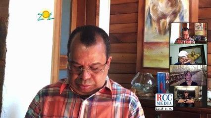 Carlos Guzmán alcalde SDN comenta medidas que han adoptado para sofocar el incendio en duquesa