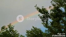 Rainbow, beautiful rainbow, colourful rainbow
