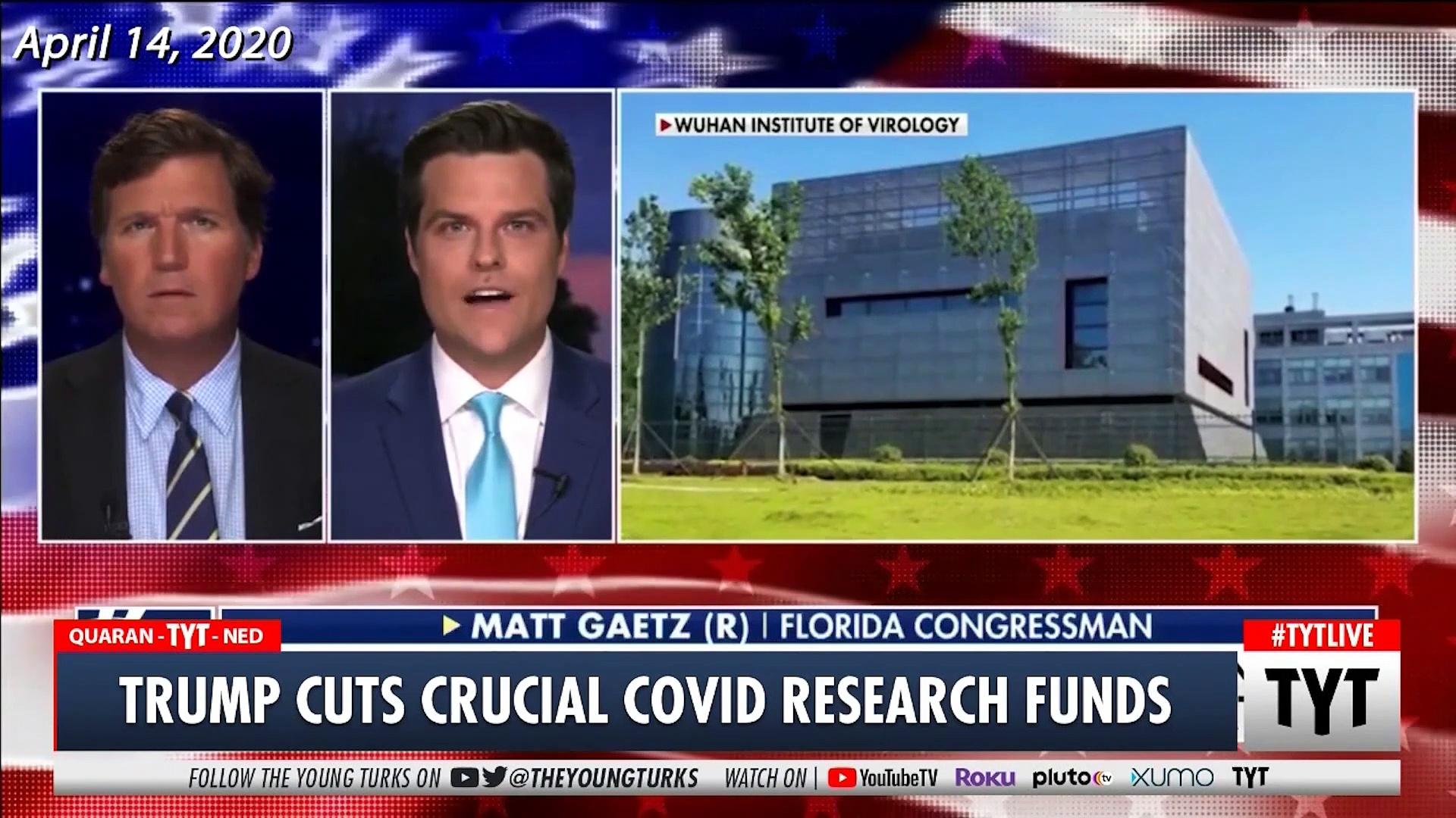 Trump CUTS Coronavirus Researcher's Funding After Fox News Segment