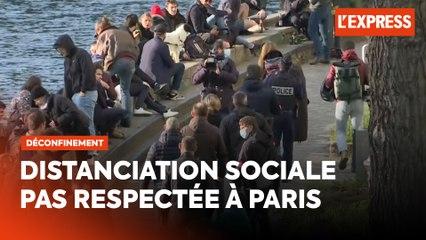 Déconfinement : la police met fin aux rassemblements sur le canal Saint-Martin