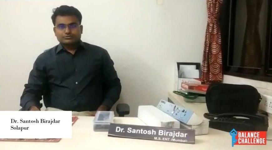 Dr. Santosh Birajdar  On Balance Disorders