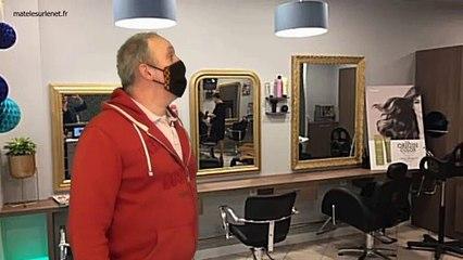 Fin du confinement - Chez le coiffeur