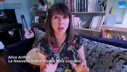"""Alice Arthur """"La vague"""" dans La Nouvelle Scène France Bleu Lorraine"""