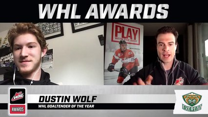 WHL Awards Interview: Dustin Wolf, WHL Goaltender of the Year