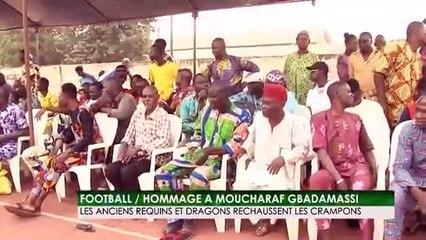 Football - Hommage à Moucharaf Gbadamassi