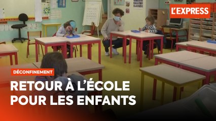 Déconfinement : retour à l'école pour les enfants