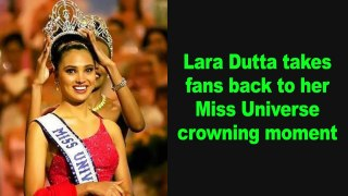 Lara Dutta takes fans back to her Miss Universe crowning moment