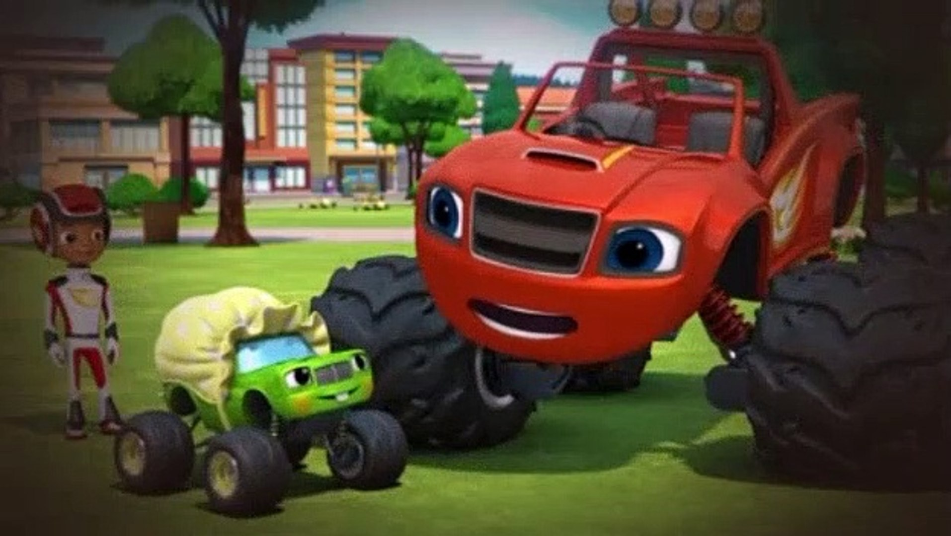 Blaze And The Monster Machines S05e12 Blazing Amazing Stories Video Dailymotion
