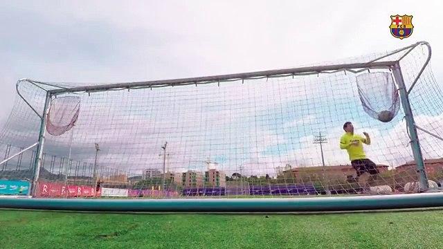 Le premier but de Messi après le déconfinement est juste parfait