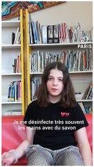 Les enfants des soignant•e•s adressent un message aux Parisien•ne•s