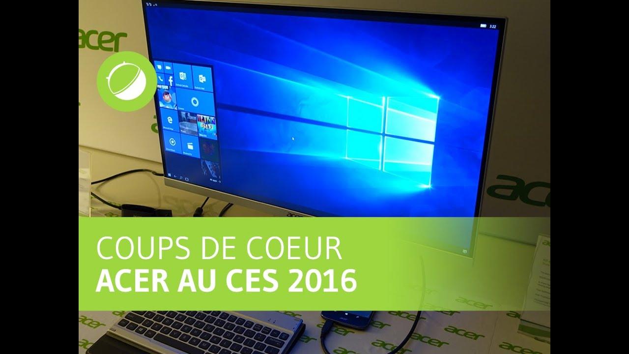 3 coups de coeur Acer : les moniteurs H7 et R1, l'Acer Switch 12 S et le Acer Jade Primo
