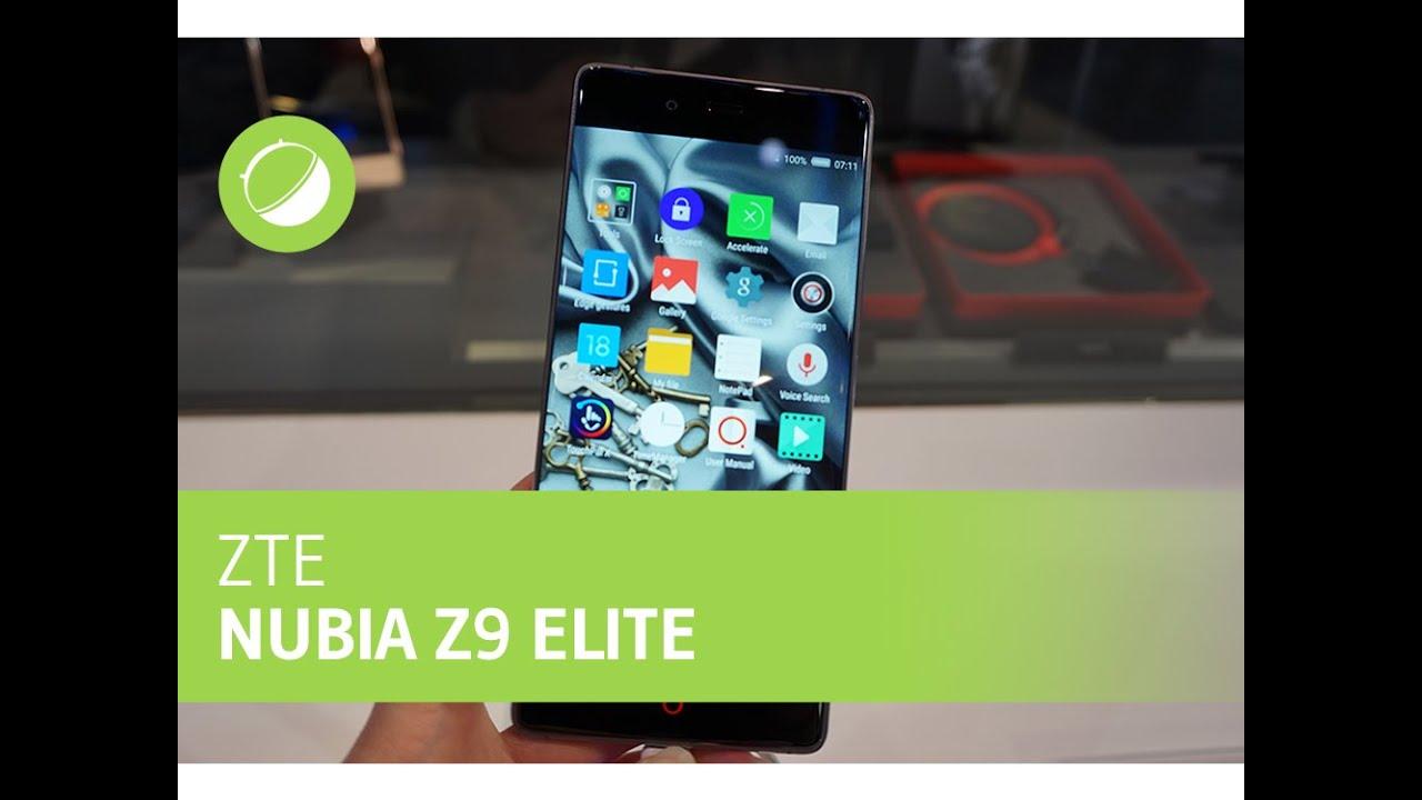 CES 2016 : Prise en main du ZTE Nubia Z9 Elite, écran 2.5D aux bordures tactiles