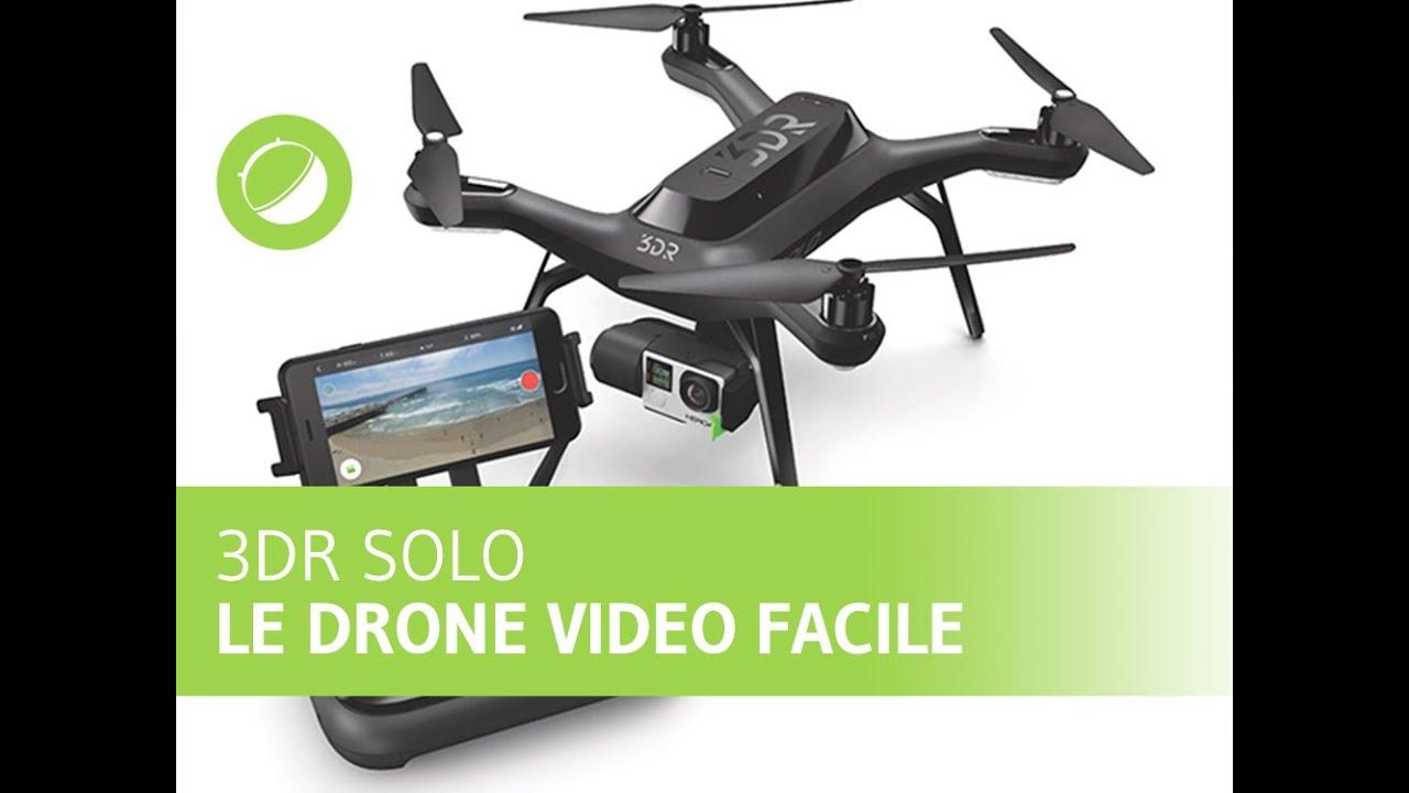 3DRobotics Solo : le drone autonome des vidéastes