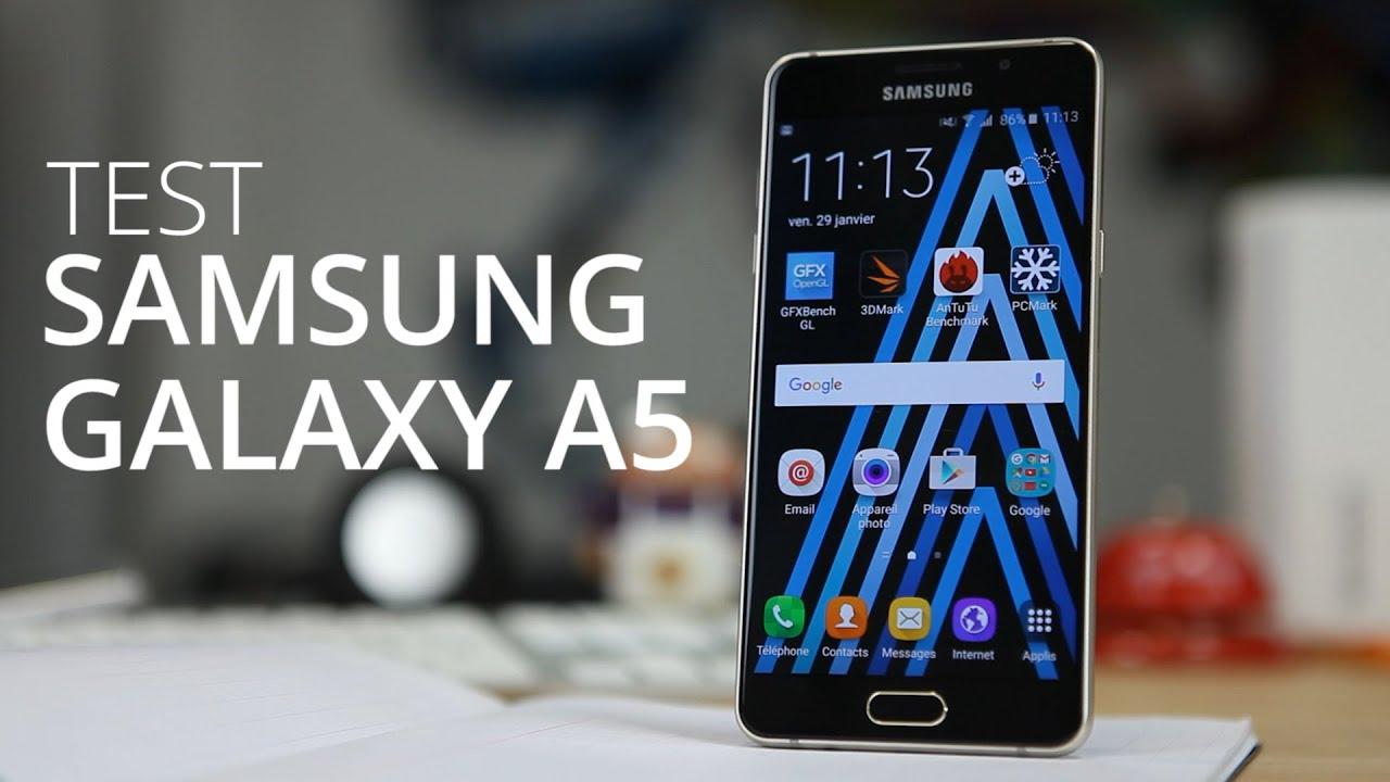 Test du SAMSUNG GALAXY A5 (2016)