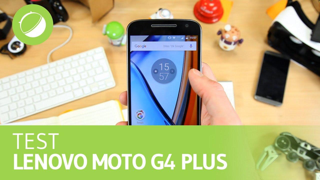 LENOVO MOTO G4 PLUS : Le test
