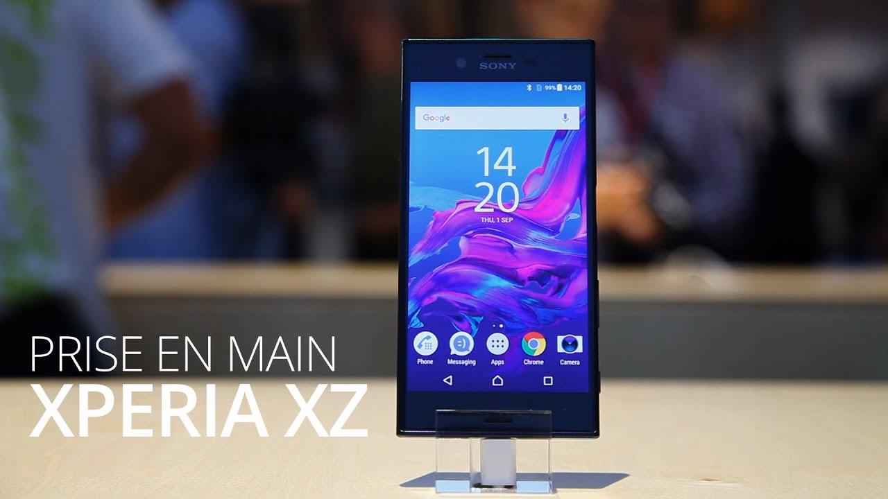 IFA 2016 : Prise en main du Sony Xperia XZ, le smartphones aux trois capteurs