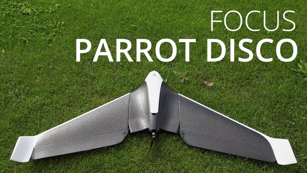 Parrot Disco, prise en main de l'aile volante intelligente