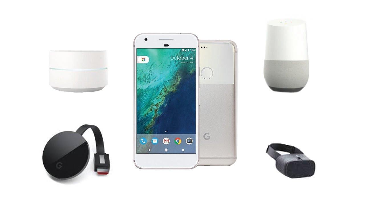 Décryptage : Google Pixel, Chromecast Ultra, Google Wifi, Daydream et Google Home