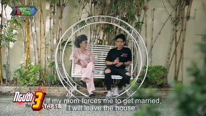 A boy ran to her grandmother's house because he could not support the charm of his new girlfriend