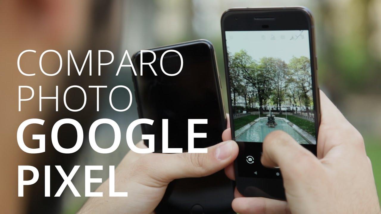 Comparo photo :  Google Pixel vs iPhone 7 et Galaxy S7