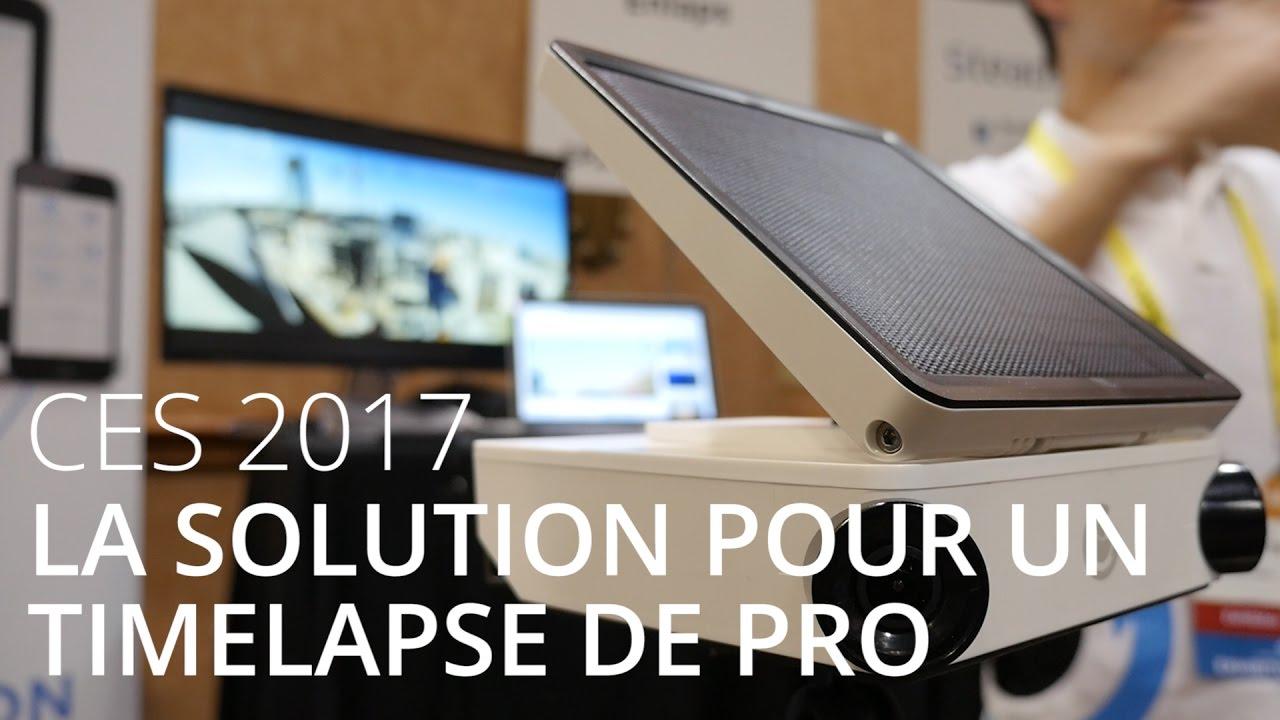 Enlaps, la solution pour réaliser des timelapse de pro - CES 2017