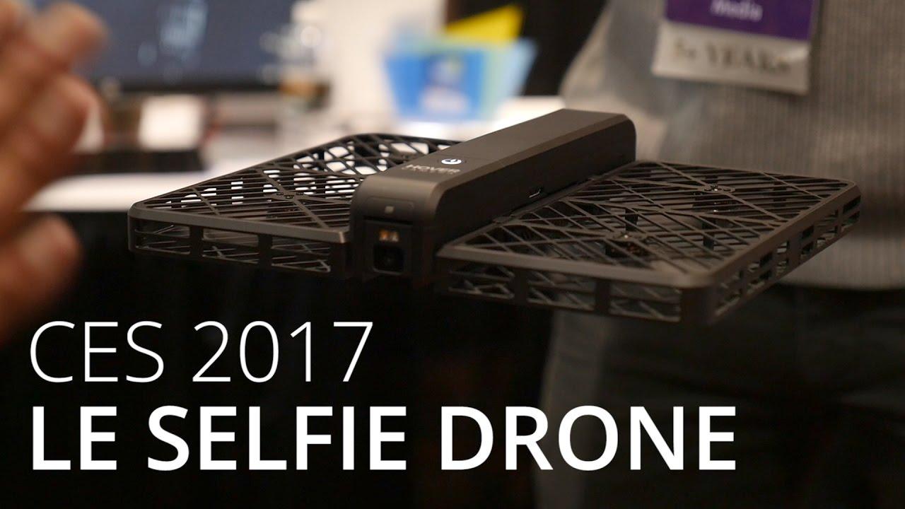 Hover Camera Passport : un drone à selfie autonome - CES 2017