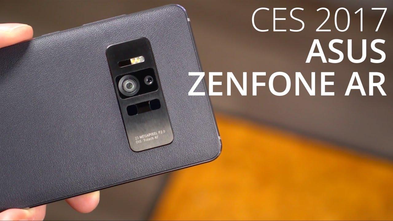 Prise en main du Asus Zenfone AR au CES 2017