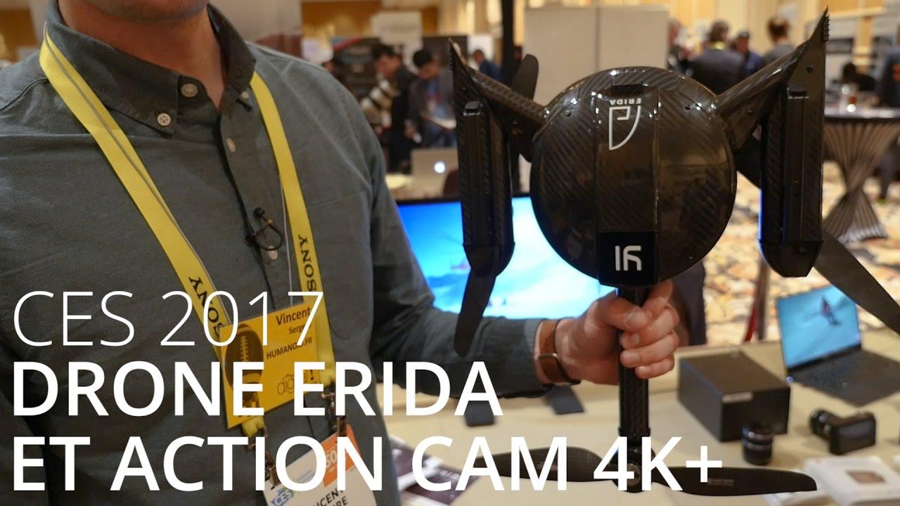 Prise en main du drone YI Erida et de la Yi 4K+ - CES 2017