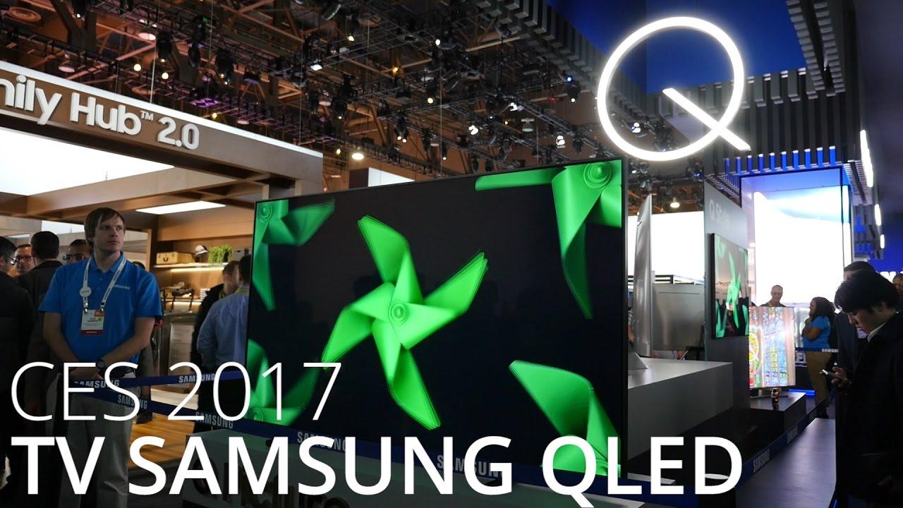 Tour d'horizon des QLED, les TV 2017 de Samsung face à l'OLED