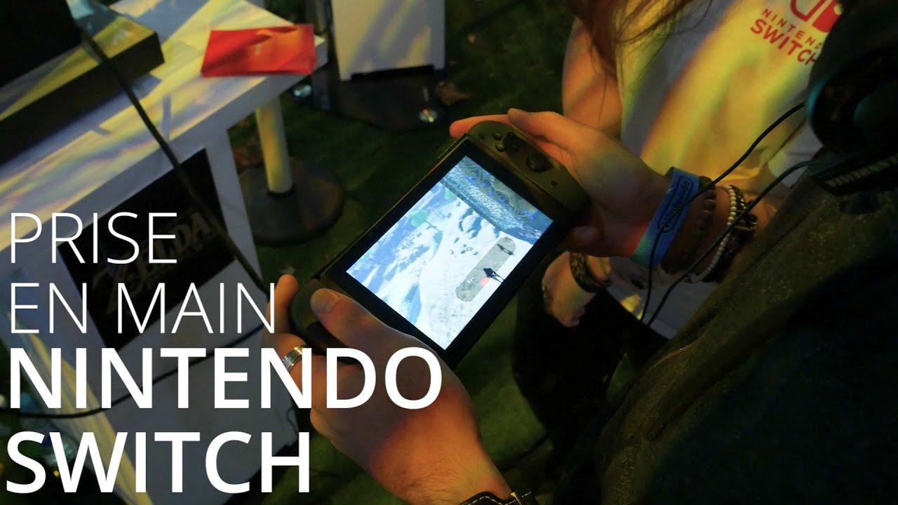 Prise en main de la Nintendo Switch, nos impressions !