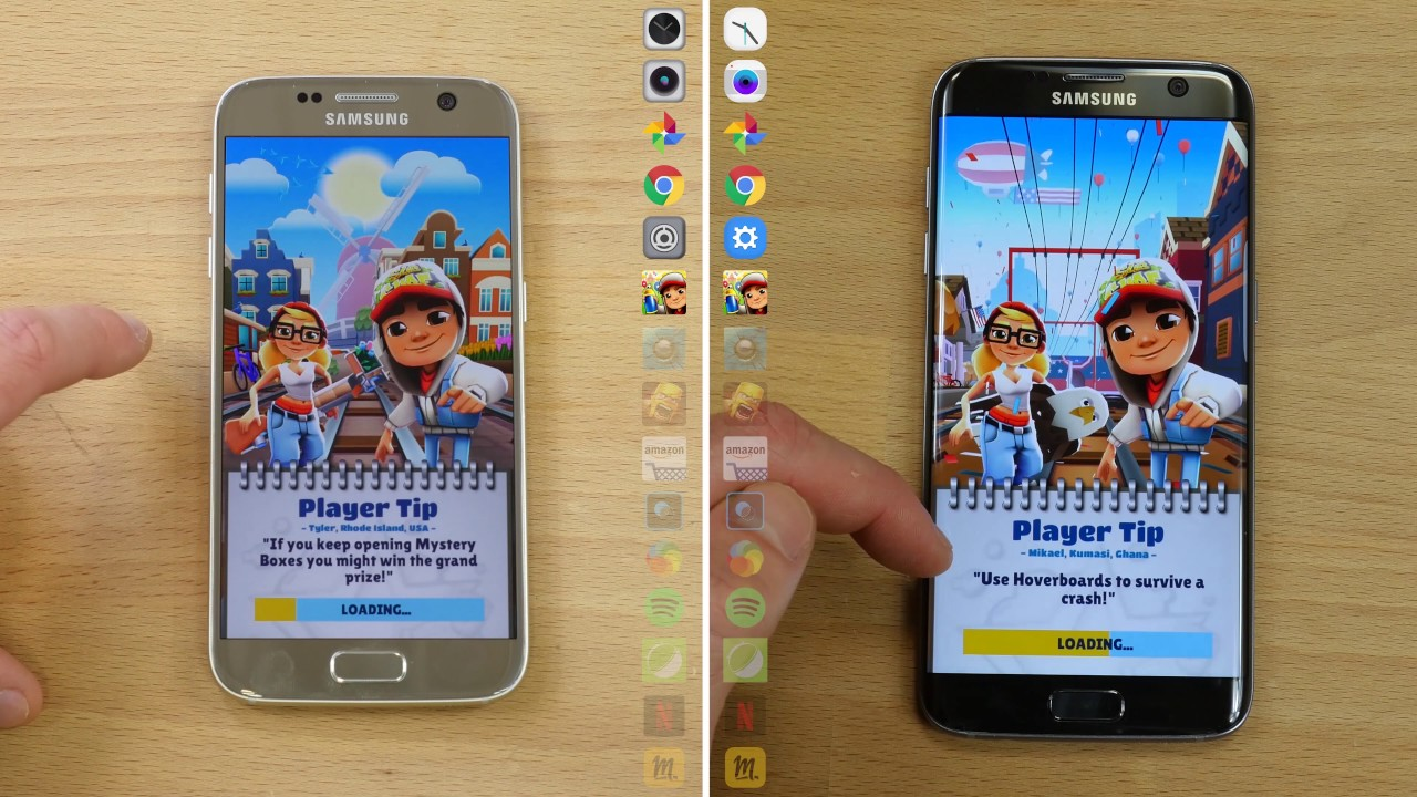 Speedtest Galaxy S7 : Android 7.0 Nougat VS Android 6.0 Marshmallow