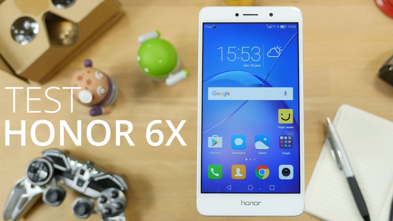 Test du smartphone Honor 6X