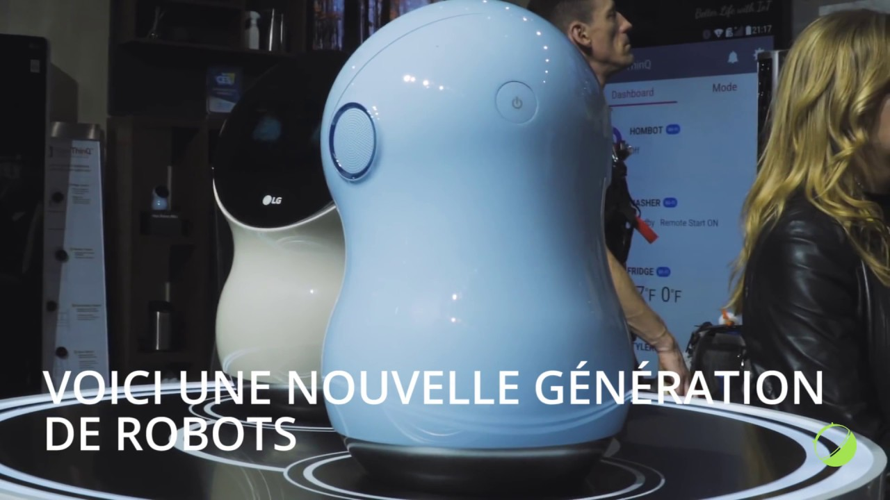 Les robots domestiques du futur