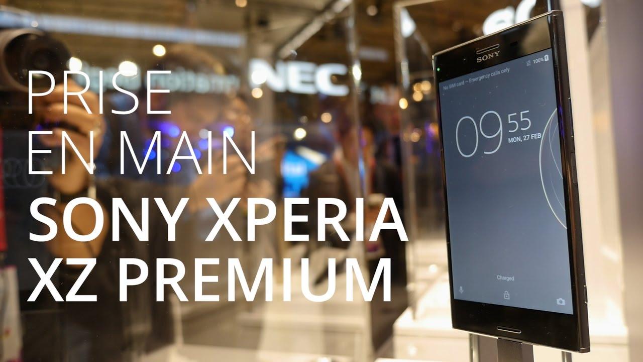 Sony Xperia XZ Premium : Ecran 4K HDR et Slow Motion au MWC 2017
