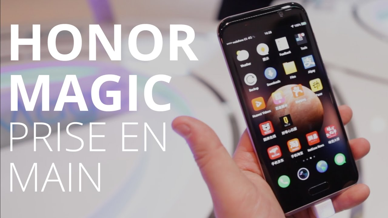 Honor Magic, le formule magique du Honor 9  au MWC 2017