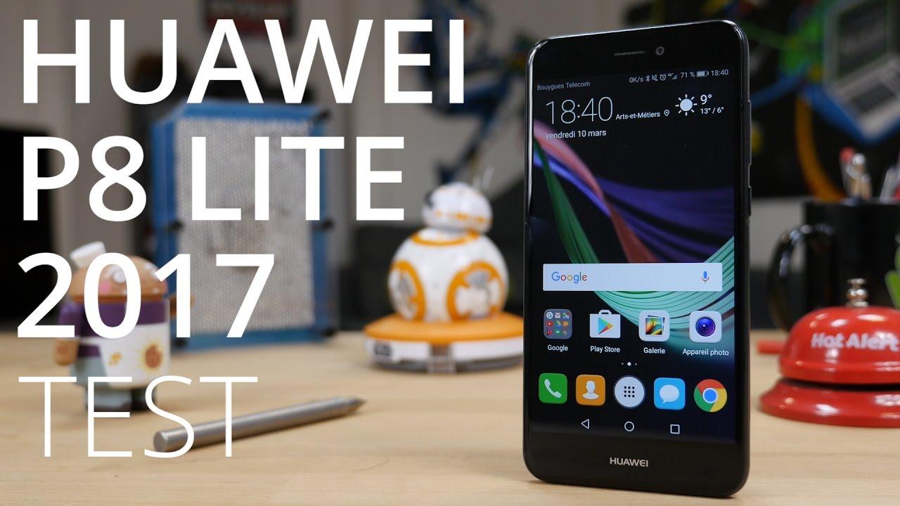 Test du Huawei P8 Lite 2017 : meilleur que le P8 Lite 2015 ?