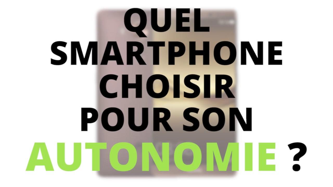 En bref : le top des smartphones avec le plus d'autonomie